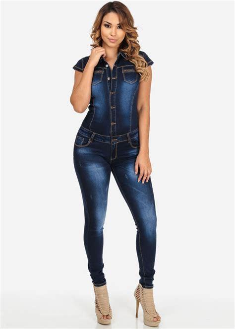 Aliexpress.com : Buy New Women Blue Jeans Jumpsuit Ladies ...