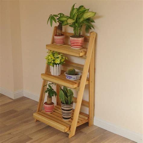 Aliexpress.com : Buy Wood Flower Pot Stand Furniture Plant ...