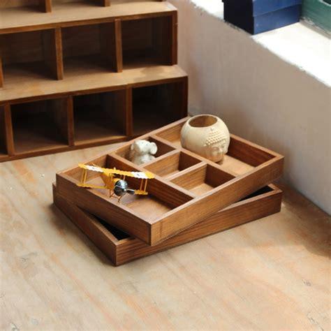 Aliexpress.com : Buy Wooden Organizer Tray Retro Storage ...