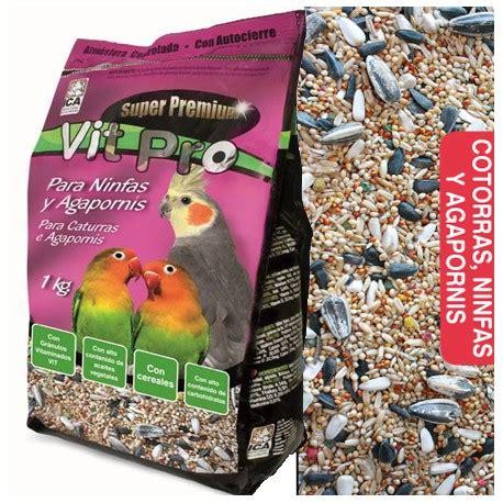 Alimento Para Ninfas y Agapornis Vit Pro con pipas y cereales