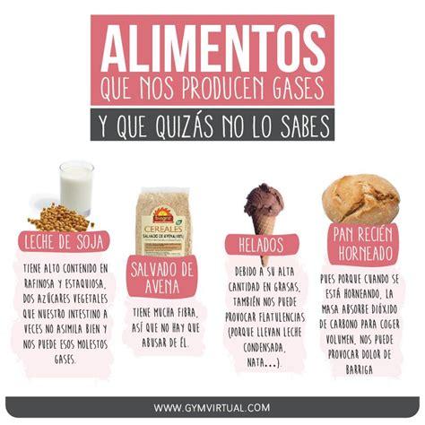 Alimentos gases   Consejos de nutrición, Alimentos ...