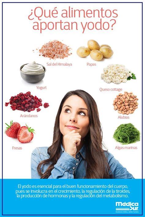 Alimentos para hipotiroidismo y la dieta correcta ...