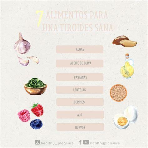 Alimentos para una tiroides sana | Alimentos para la ...