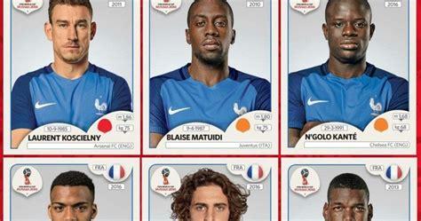 Alineación Completa Selección Francia Mundial Rusia 2018
