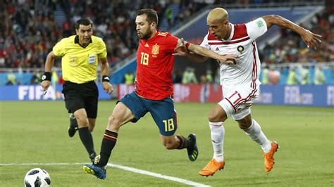 Alineación de España contra Croacia en el partido de la ...