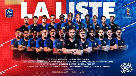 Alineación de Francia en el Mundial 2018: lista y dorsales ...