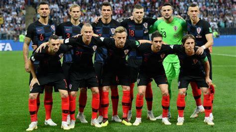 Alineación oficial de Croacia contra Francia en la final ...