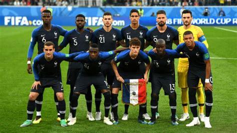 Alineación oficial de Francia contra Croacia en la final ...