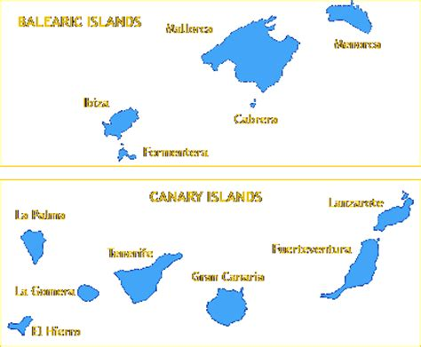 All About Spain: Balearic and Canary Islands