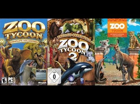 All Animals in Zoo Tycoon  2001 2017    YouTube