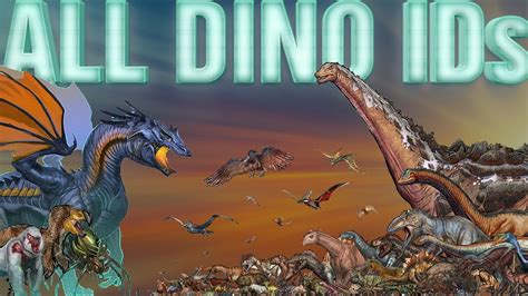All ARK DINO IDs   How to Spawn ALL Dinos/Creatures | From ...