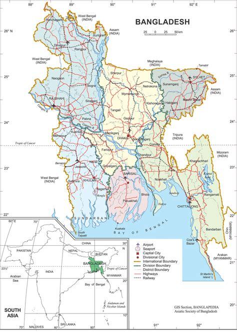 All Bangladesh Map