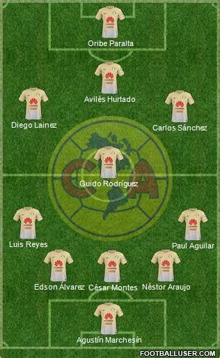 All Mexico Football Formations   page 16