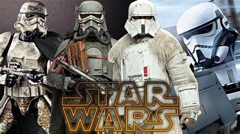 All Solo: A Star Wars Story Trooper Types   Star Wars ...