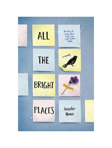 All the Bright Places by Jennifer Niven   The Tattooed Book