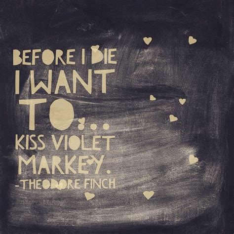 All The Bright Places Jennifer Niven Theodore Finch Violet ...
