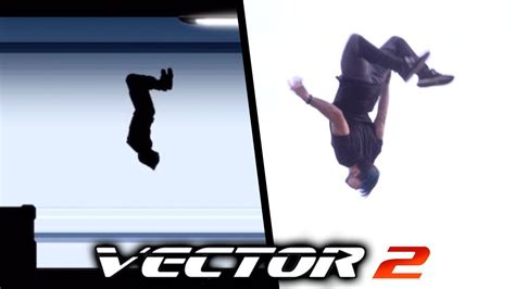 ALL THE TRICKS from Vector In Real Life  Vector 2 Parkour ...