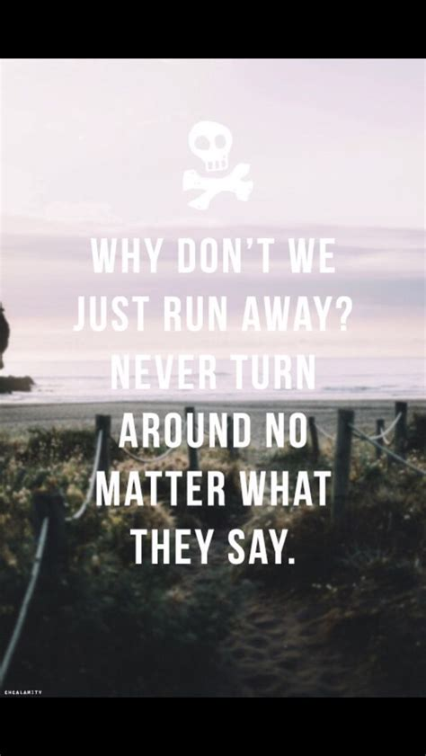 All time low runaways. this is my favorite song by all ...