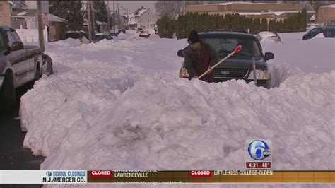 Allentown digging out after record snowfall   6abc ...