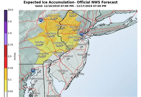 Allentown weather: Winter storm snow and ice threat shifts ...