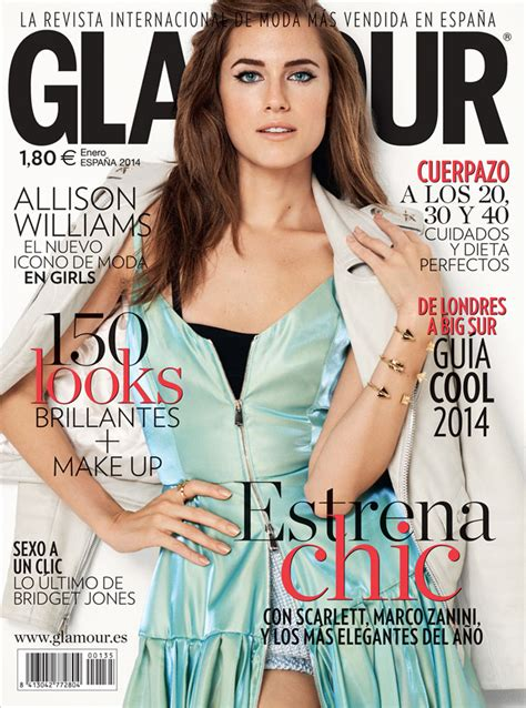 Allison Williams for Glamour Spain by Blossom Berkofsky