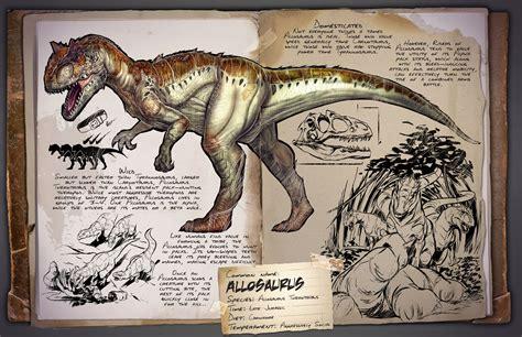 Allosaurus | ARK: Survival Evolved Wiki | FANDOM powered ...