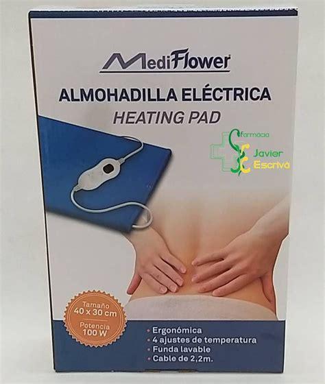 Almohadilla Eléctrica Mediflower | Almohada, Electrica ...