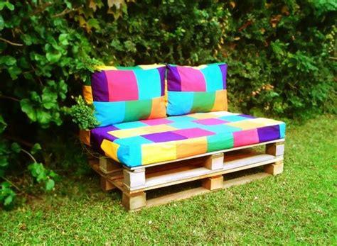 Almohadones base sillon de pallets   Ideas para mi jardin ...