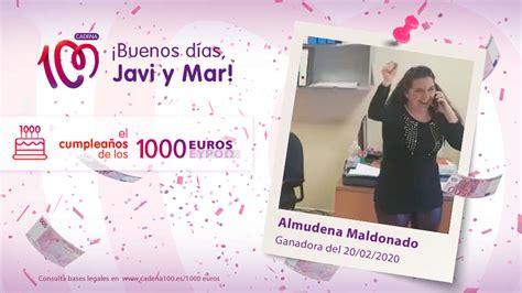 ¡Almudena Maldonado se ha llevado 1.000 euros!   El ...