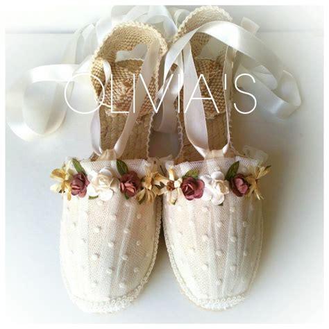 Alpargatas decoradas para comuniones, bodas y diferentes ...