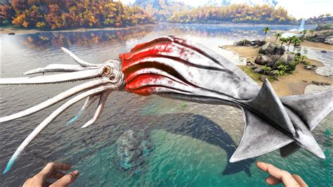 Alpha Tusoteuthis   Official ARK: Survival Evolved Wiki