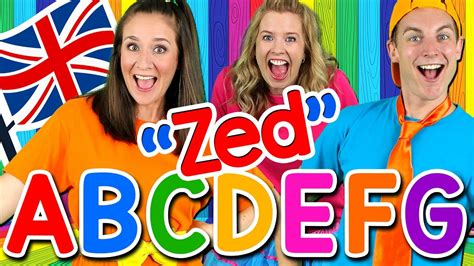 Alphabet Song   ABC Song UK ZED Version! Learn the ...