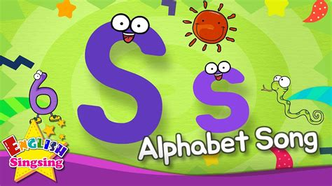 Alphabet Song   Alphabet 'S' Song   English song for Kids ...