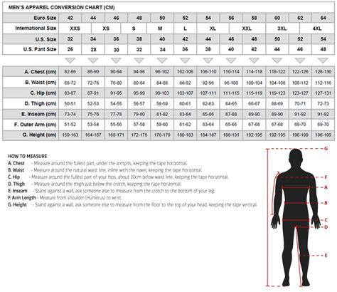 Alpinestars Size charts