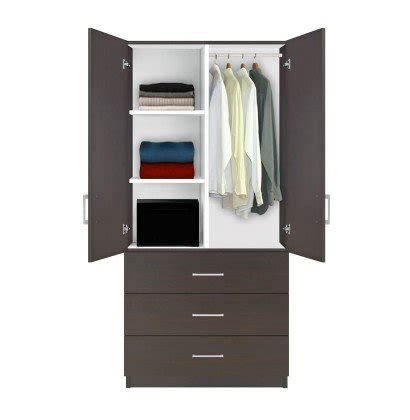 Alta Wardrobe Armoire   3 Drawer Wardrobe, Shelves ...