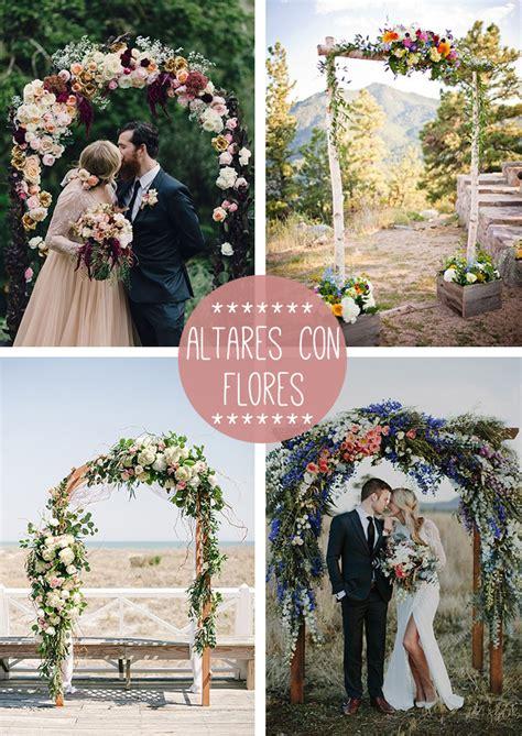 altar flores boda   Bonitismos
