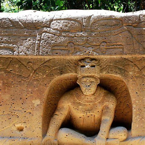 Altar  Olmec sculpture in basalt suggests that the output ...