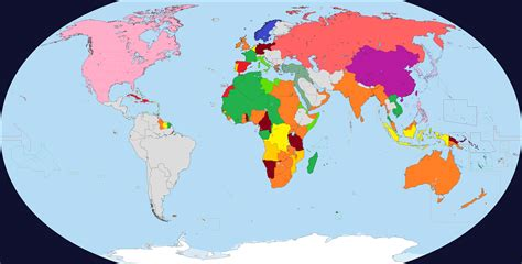 Alternate World map   before the Great War by ...