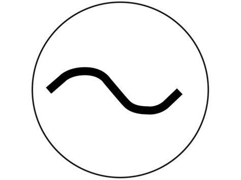 Alternating Current Symbol   ClipArt Best