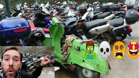 ALUCINAS DESGUACE de MOTOS!! LO VEMOS TODO!! ️ ...