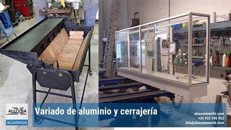 Aluminio y cerrajería en Tenerife
