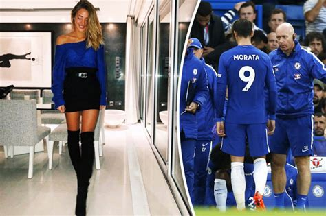 Alvaro Morata Chelsea injury: Star s wife posts sizzling ...