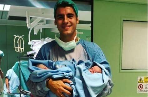 Alvaro Morata Resmi Jadi Ayah, Ini Foto Bayinya yang Lucu ...