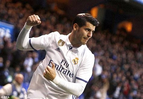 Alvaro Morata s agent and father turn up at Real Madrid ...