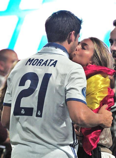Álvaro Morata y Alice Campello, pura pasión en la cuenta ...