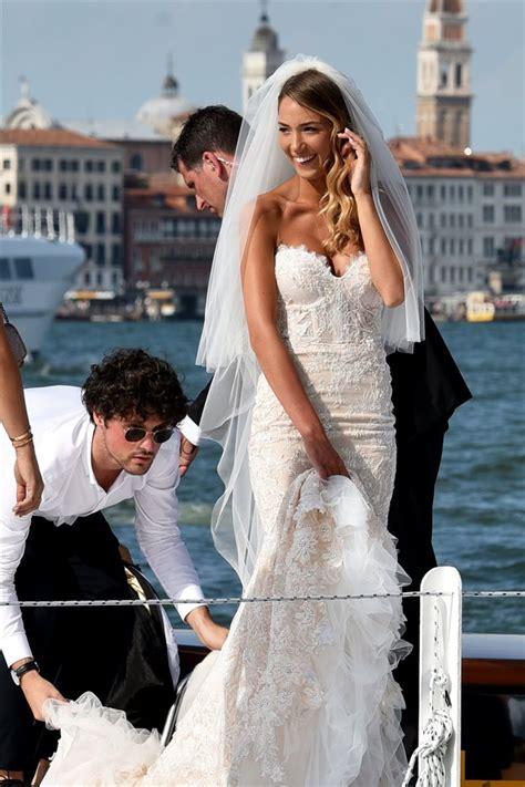 Álvaro Morata y Alice Campello se casan en Venecia
