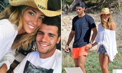 Álvaro Morata y Alice Campello siguen con su luna de miel ...