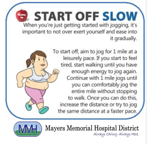 Always Caring...Always Here: Jogging Tips for Beginners