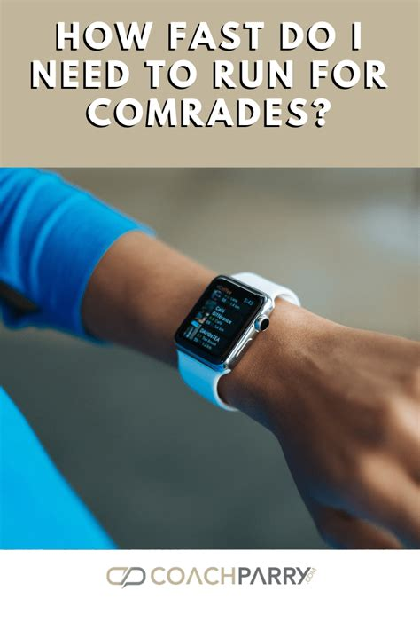 Am I fast enough to run Comrades?   Coach Parry