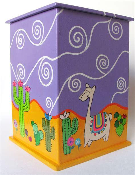 AMANOPLA | Cajas pintadas, Cajas decoradas, Manualidades